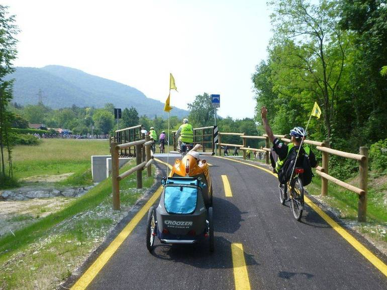 All'Alpe Adria l'Oscar italiano delle ciclovie